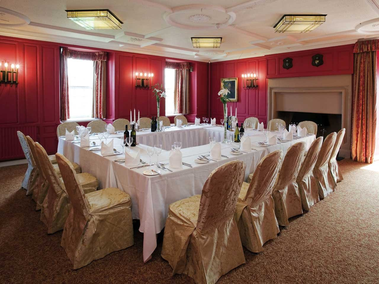 Meeting Rooms At Ballygally Castle Ballygally Castle Hotel Coast