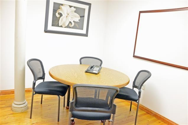 For Just 150, You Can Book The Small Conference Room 48 At The Select Office