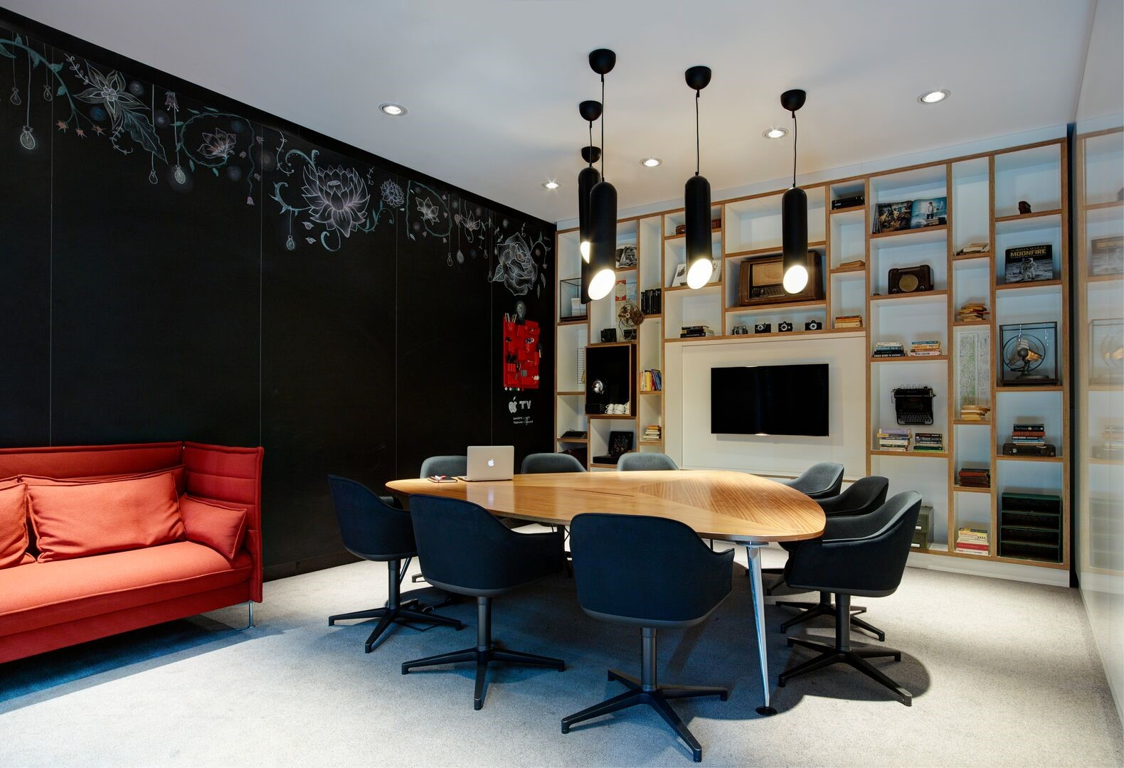Meeting Rooms at citizenM Glasgow, citizenM Glasgow hotel